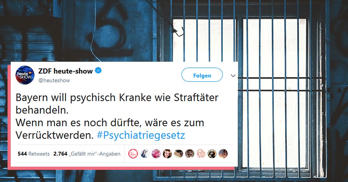 Neues Psychiatriegesetz
