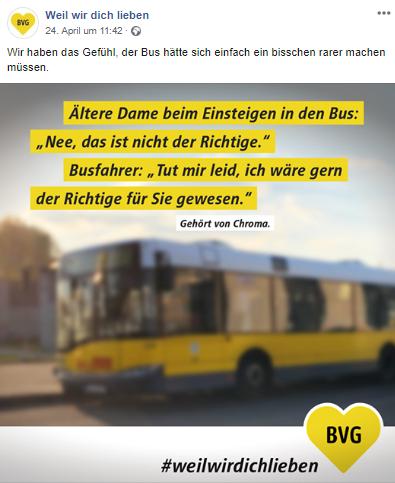 Busfahrer kennenlernen