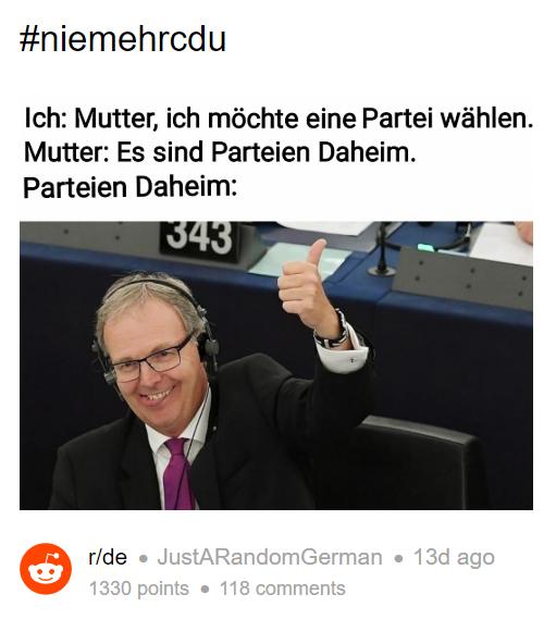 Die Besten Memes Zu Den Anstehenden Eu Wahlen The Best Social Media De
