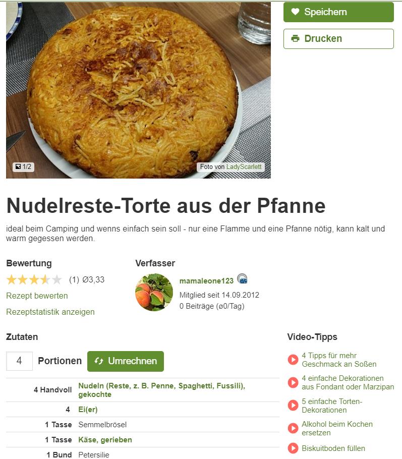 Chefkoch Facebook