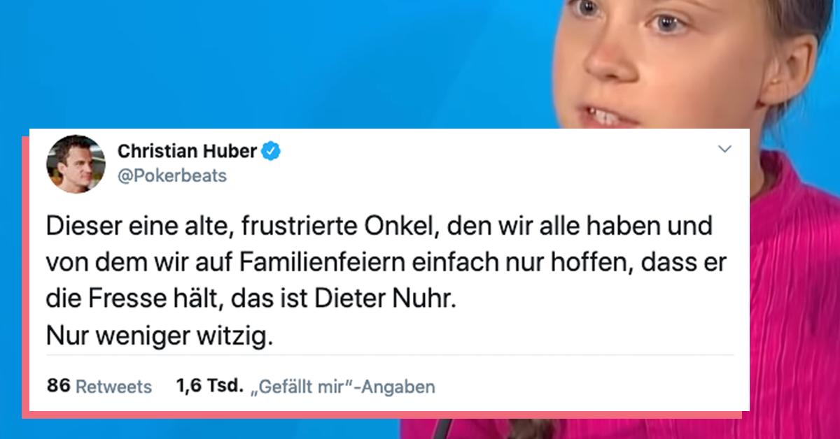 Dieter Nuhr Gegen Greta Und Das Internet Wie Ein Wochenlanger Konflikt Polarisiert The Best Social Media De