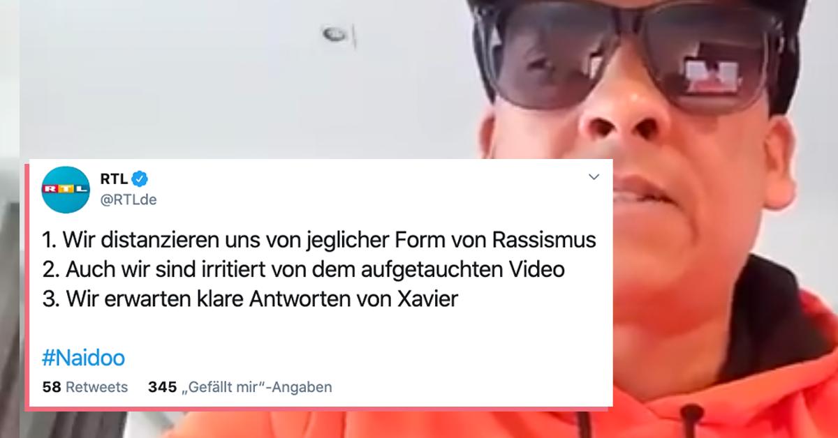 Xavier Naidoo Twitter Video