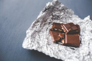 chocolate-pieces-on-aluminum-foil-6345