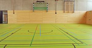 Sporthalle Art