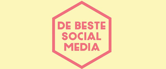 stage de beste social media