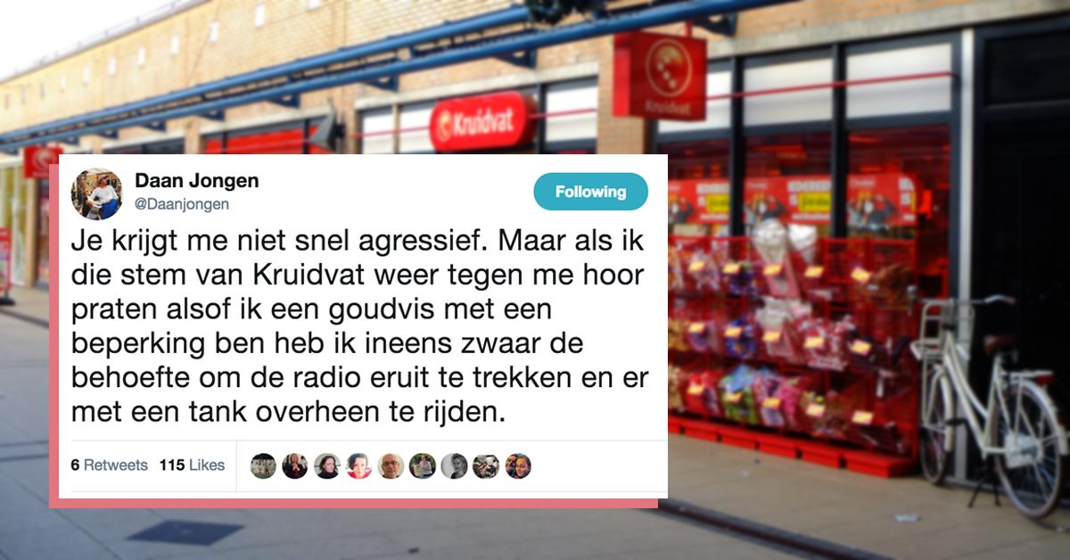 a4dfbca5db4 Vrouw van 'irritante' Kruidvat reclames reageert op klagende Twitteraars