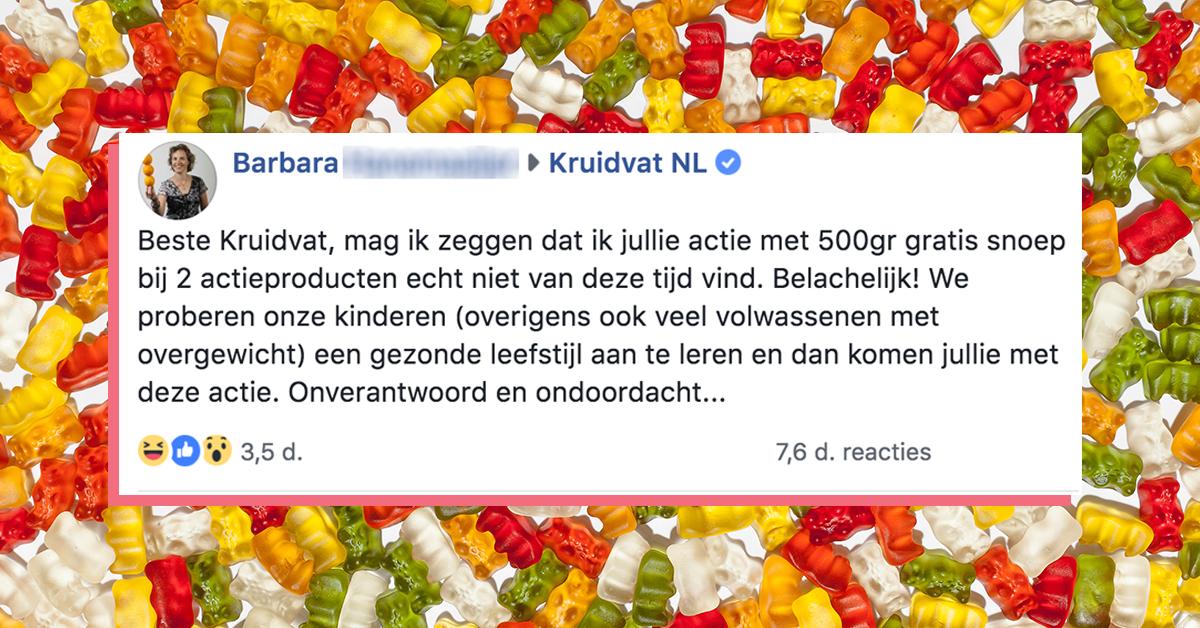 Vrouw Plaatst Klacht Kruidvat Op Facebook En Krijgt De Volle Laag