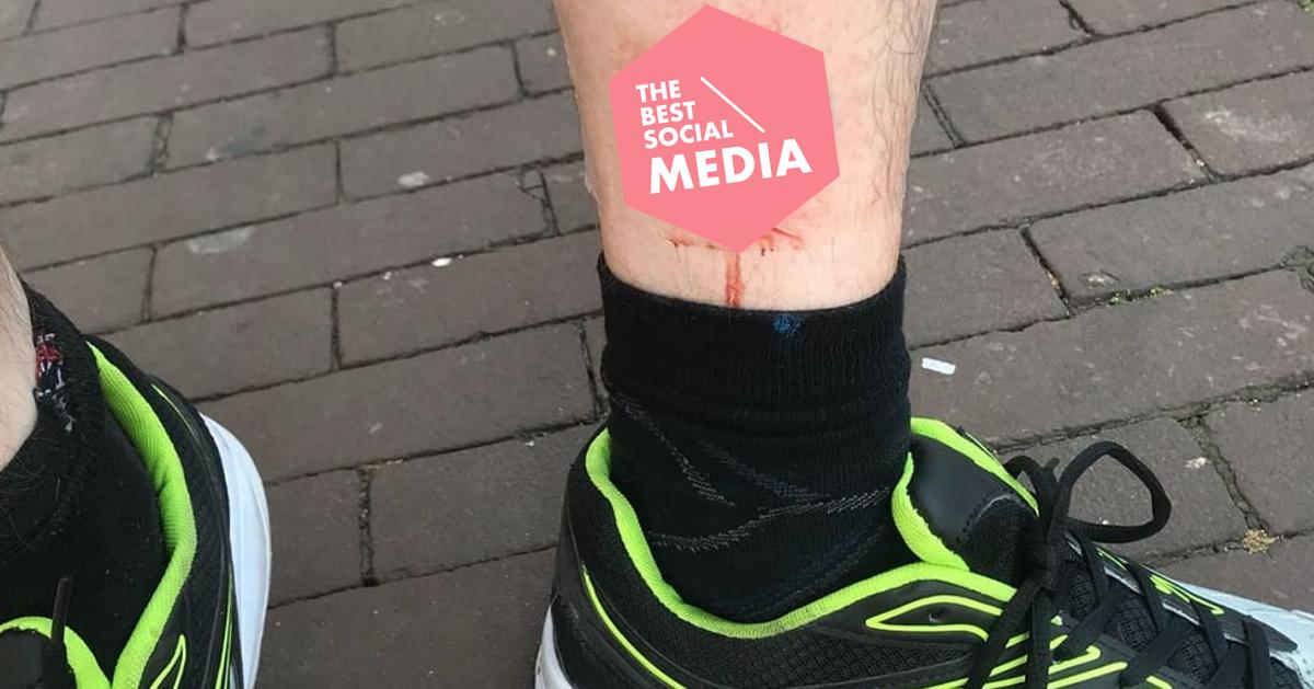Man Met 35 Korting Tattoo Verbluft Albert Heijn En Wordt