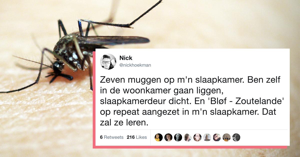 14 tips van twitteraars hoe je muggen het beste te lijf kunt gaan