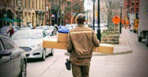 Header bezorgers zonder post