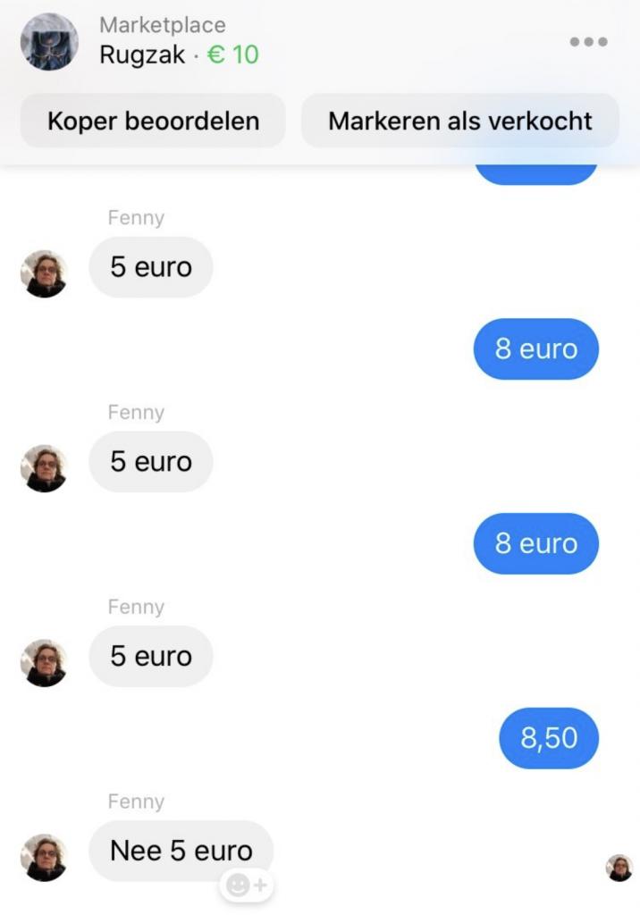 onderhandelen