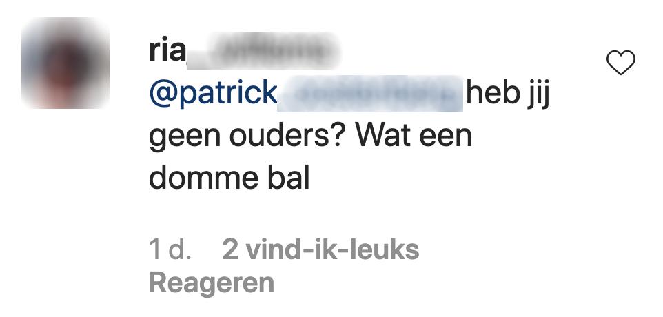 Ouders in de comments