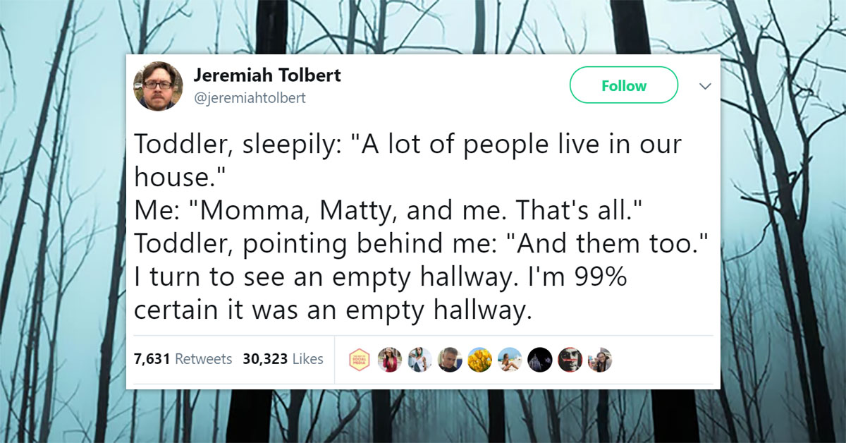 Twitter has some seriously scary ghost stories for you on the