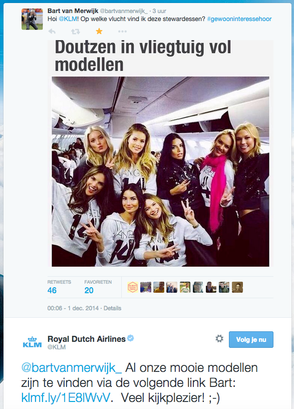 Reactie_KLM_modellen