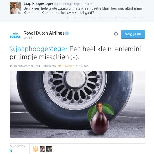 Reactie_KLM_Zuurpruim