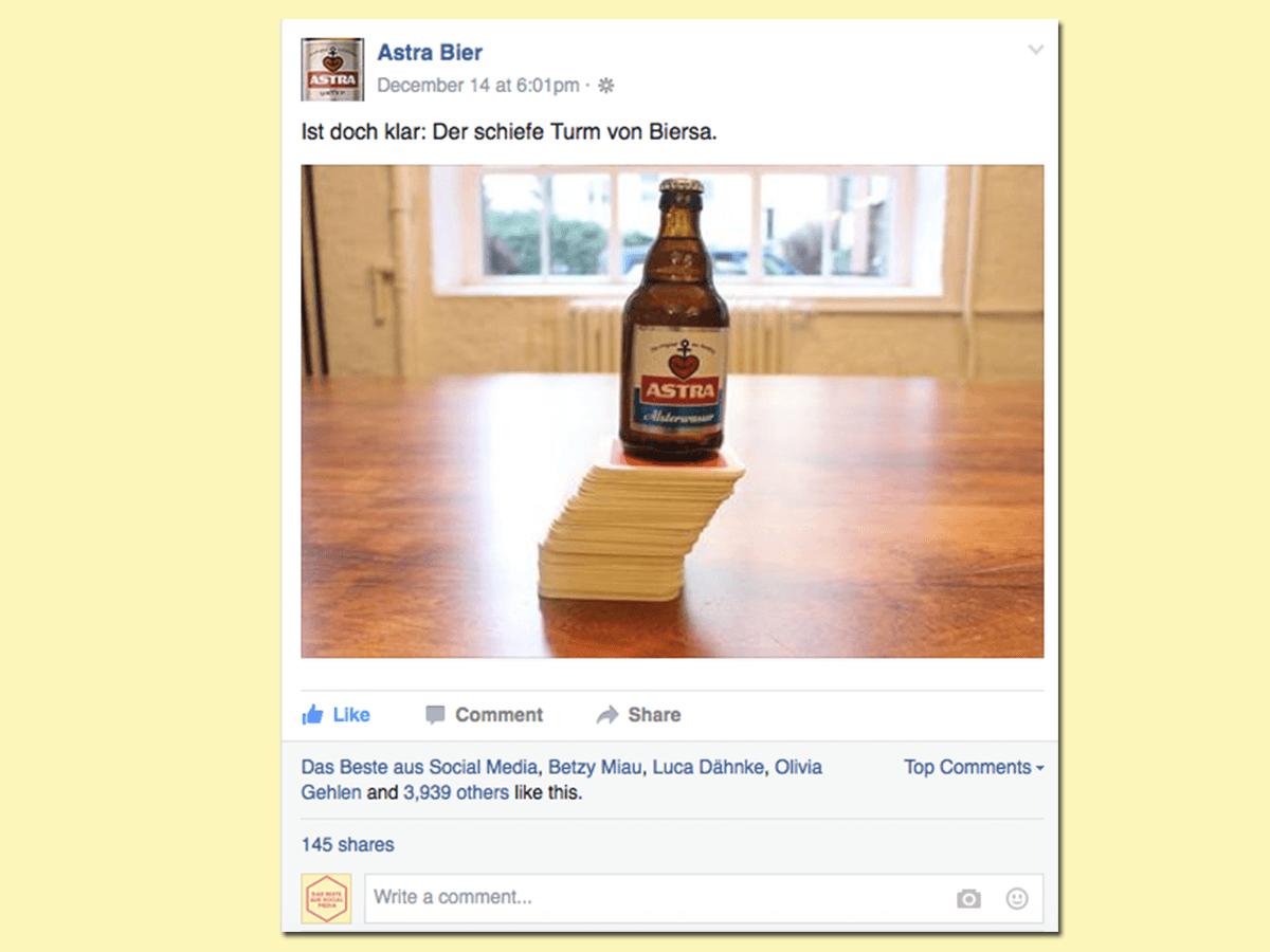 astra bier pisa