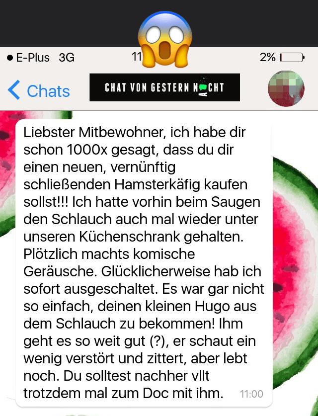 Chat Von Gestern